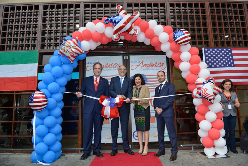 """THE SULTAN CENTER - The Sultan Center hosted """"Taste of America"""" week"""